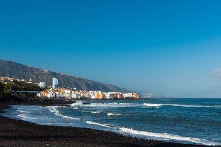 Playa Jardin,Puerto de la Cruz, Tenerife, Spain