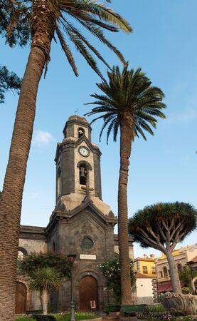 Church nuestra senora de la Pena de Francia, in Puerto de la Cruz, Tenerife, Canary islands, Spain.