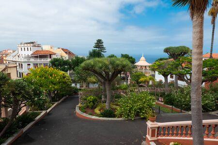 Park near Liceo de Taoro, La Orotava, Tenerife, Spain