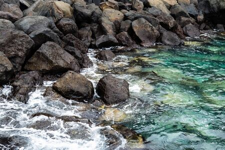 Natural pool in Garachico, Tenerife Island, Canary, Spain