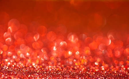 Red glitter christmas abstract background Foto de archivo
