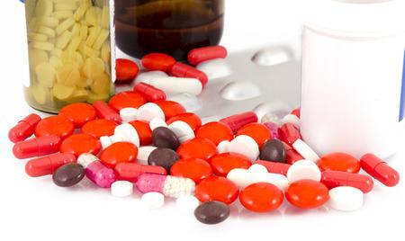 prescribe: Medicine pills and bottles