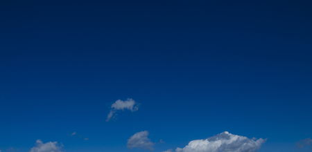 cloudscapes: Deep blue sky