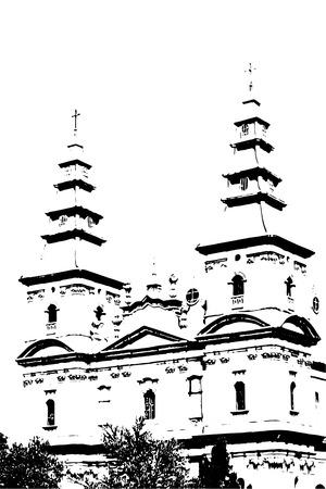 st pauls: church Illustration