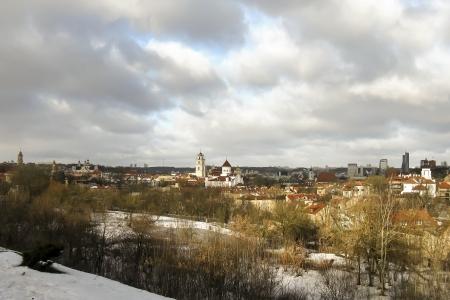 vilnius: Vilnius skyline