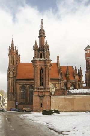 vilnius: St  Anne s Church, Vilnius