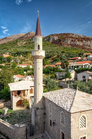 montenegro: Old mosque in Bar, Montenegro
