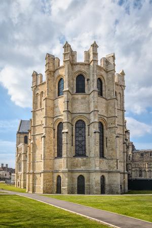 canterbury: View of Trinity Chapel exterior at Canterbury cathedral.