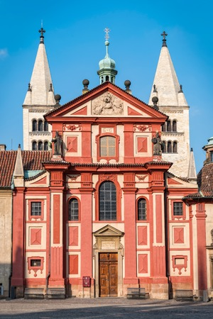 The basilica is the oldest surviving church building within Prague Castle and was founded in 920.