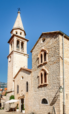 st john: Church of St John in Budva was built in the 7th century. It was a Cathedral until 1828, when the Diocese of Budva was abolished.