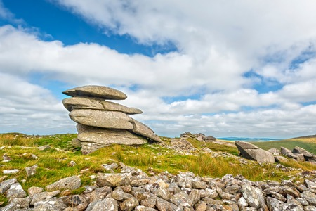 Rough Tor is one of the highest peaks in Bodmin Moor