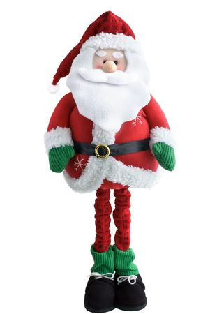 Santa soft toy, isolated on a white background Stock Photo - 6119411