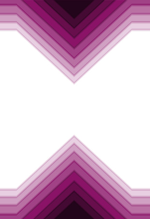 multycolored: Strict purple background with geometric shapes. Illustration