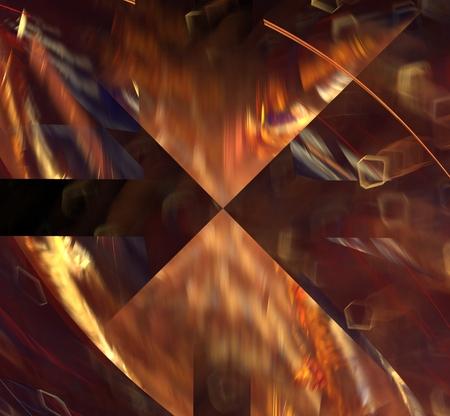 light brown: Abstract fractal magic light brown futuristic rectangular backgrounds image