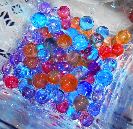 gelatin: Colored Gelatin balls