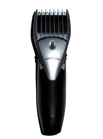 electric razor: Electric razor, isolated on white Stock Photo
