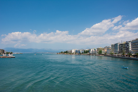 Distant view of Chalkis photo