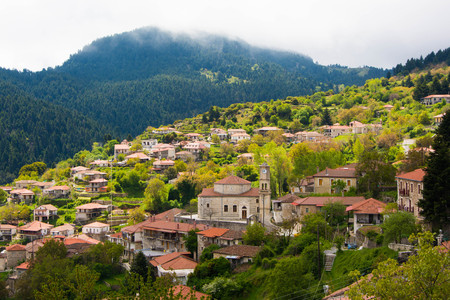 Small Village in Arkadia, Greece.