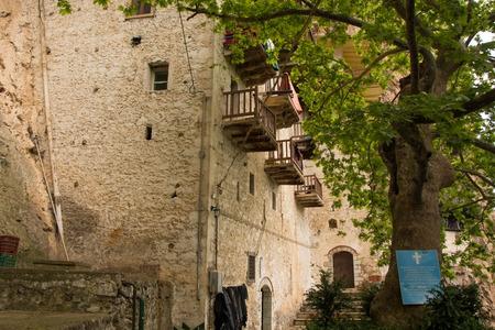 Monastery of Prodromos in Arkadia, Peloponnese, Greece.