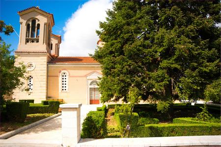 Greek orthodox church in Arkadia, Greece