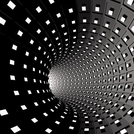 tunel: resumen de antecedentes Foto de archivo