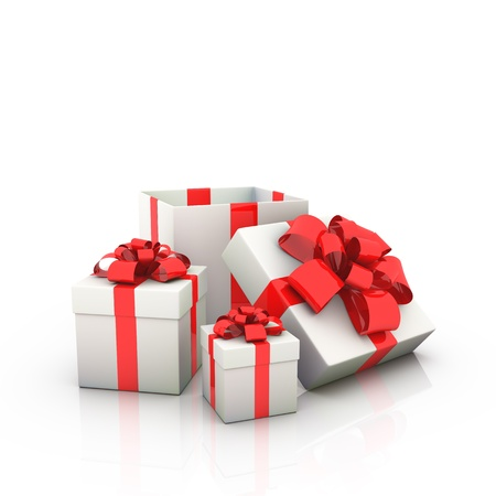 open box: gift boxes