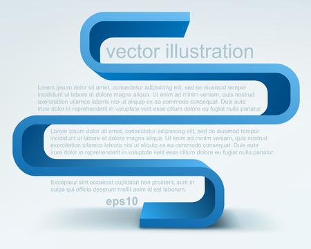 success concept: 3d vector shelves