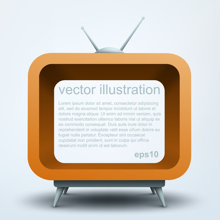 telecast: Stylized TV  Abstract 3d frame