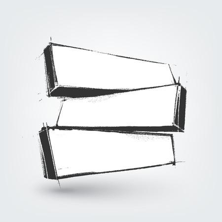 Vector elemento de diseño. Dibujado a mano banderas en el fondo blanco Foto de archivo - 38463673