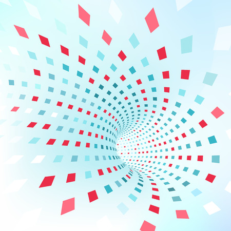 Vector background. Illustration of abstract 3d texture