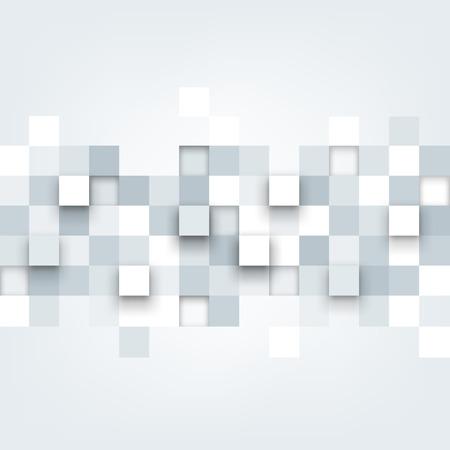 objetos cuadrados: Vector de fondo. Ilustración de la textura abstracta con cuadrados. Patrón de diseño para la bandera, cartel, folleto. Vectores