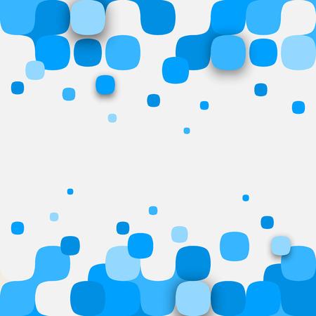 Vector Hintergrund. Illustration der abstrakten Textur mit Quadraten. Pattern Design für Banner, Poster, Flyer.