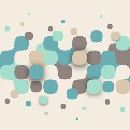Vecteur de fond. Illustration de la texture abstraite avec des carrés. conception de modèle pour bannière, affiche, dépliant.