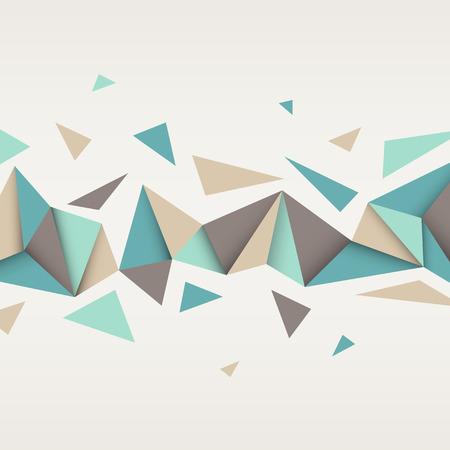 triangulo: Vector de fondo. Ilustración de la textura abstracto con triángulos. Patrón de diseño para la bandera, cartel, folleto.