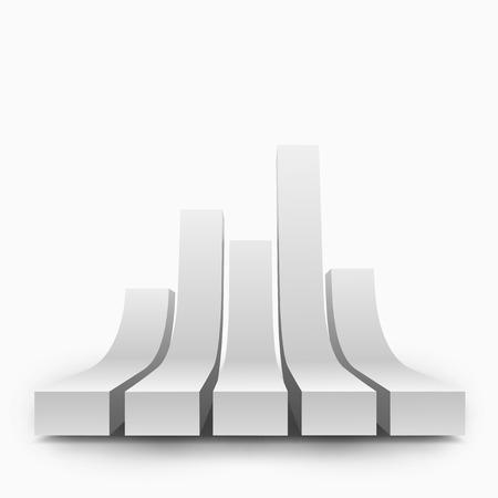 텍스트에 대 한 장소 3D 보드의 벡터 일러스트 레이 션. 배너, 포스터, 전단지, 카드, 엽서, 커버, 안내 책자에 대 한 배경 디자인.