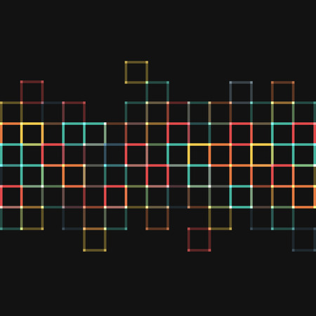 Vector background. Illustration of abstract texture with squares. Pattern design for banner, poster, flyer.