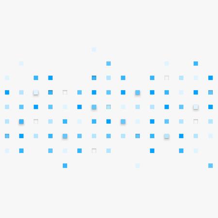 벡터 배경입니다. 사각형 추상 질감의 그림입니다. 배너, 포스터, 전단지에 대한 패턴 디자인.