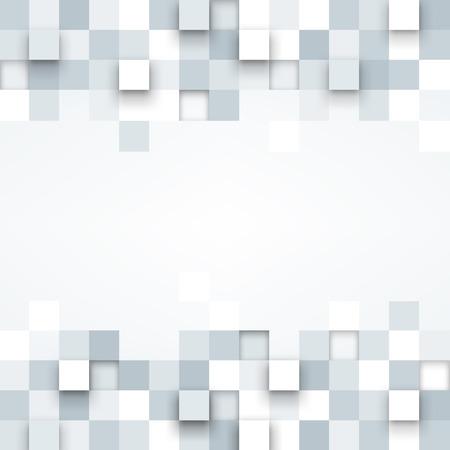 Vecteur de fond. Illustration de la texture abstraite avec des carrés. conception de modèle pour bannière, affiche, dépliant. Vecteurs