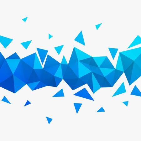 Vector Hintergrund. Illustration der abstrakten Textur mit Dreiecken. Pattern Design für Banner, Poster, Flyer.