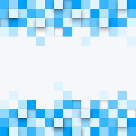 Vecteur de fond. Illustration de la texture abstraite avec des carrés. conception de modèle pour bannière, affiche, dépliant. Banque d'images - 41294157