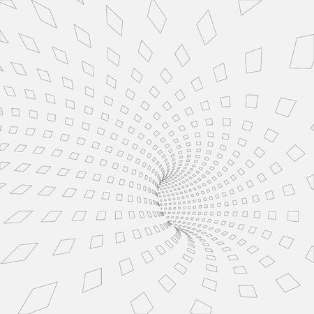 ベクトルの背景。抽象的な 3 d テクスチャのイラスト