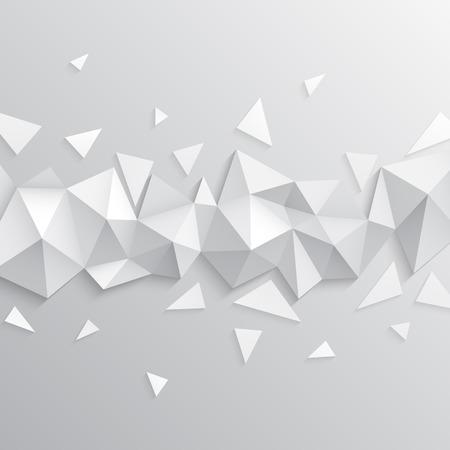 ベクトルの背景。三角形の抽象的なテクスチャのイラスト。バナー、ポスター、チラシのパターン デザイン。