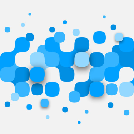 ベクトルの背景。正方形の抽象的なテクスチャのイラスト。バナー、ポスター、チラシのパターン デザイン。  イラスト・ベクター素材