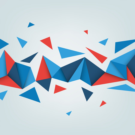 tri�ngulo: Vector baja poli fondo. Ilustraci�n de la textura abstracto con tri�ngulos. Patr�n de dise�o para la bandera, cartel, folleto.