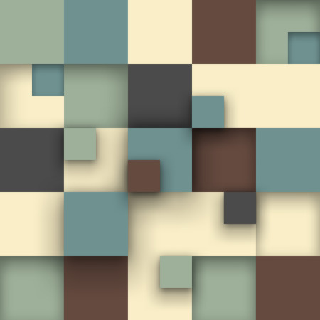 Vector background. Vector Illustration of abstract squares. Background design for poster, flyer. 免版税图像 - 43077481