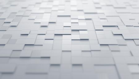 Abstract 3d render, futuristic design, modern background Stockfoto