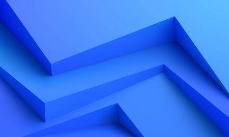 Abstrakte 3D-Darstellung, moderner Hintergrund, Grafikdesign