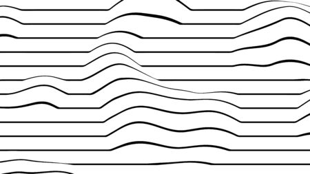 Abstract background texture design, modern pattern with wavy lines, vector illustration  イラスト・ベクター素材