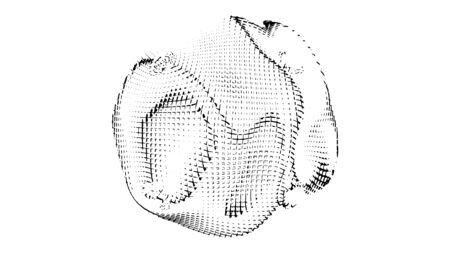 Abstract pattern design, modern background, vector illustration Illusztráció