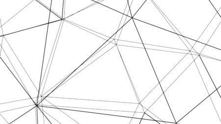 Abstract geometric modern design